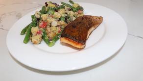 Blue Apron Seared Salmon