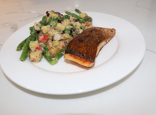 Blue Apron Seared Salmon
