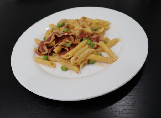 Home Chef Prosciutto Pasta Carbonara