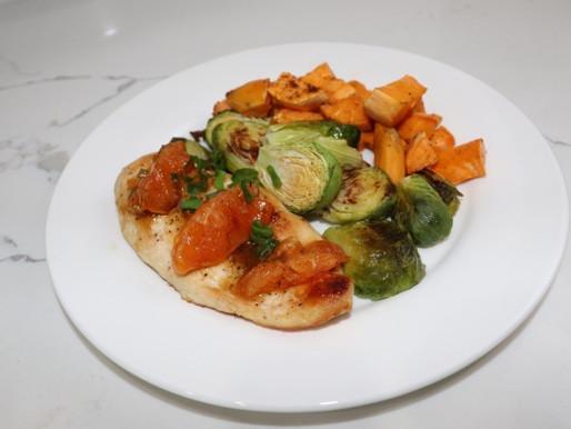 HelloFresh Orange-Glazed Chicken