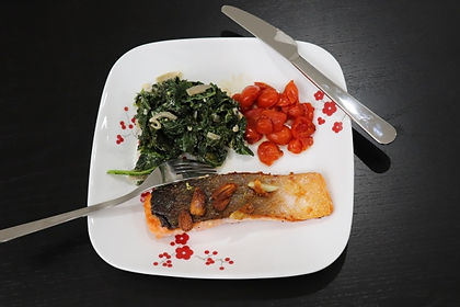 Home Chef Garlic and Lemon-Crusted Salmo