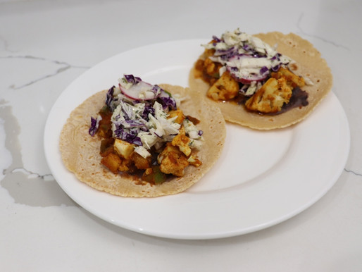 Green Chef Cauliflower Tacos Al Pastor