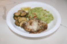 blue apron italian-style chicken Zucchin