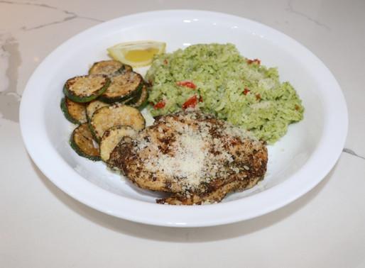Blue Apron Italian-Style Chicken & Zucchini