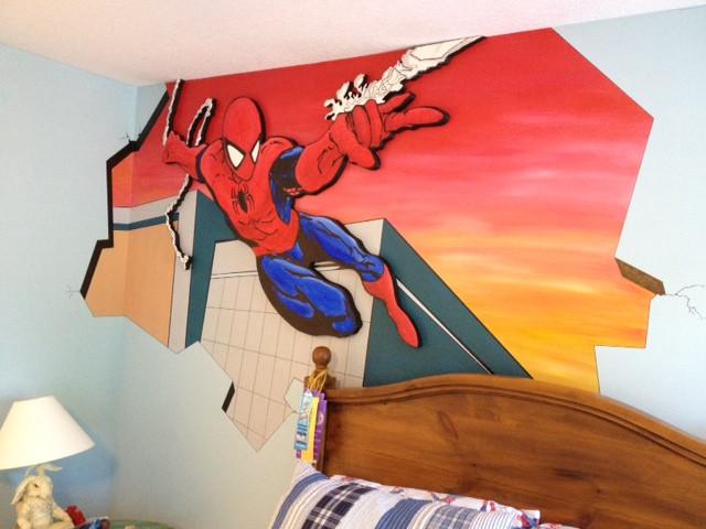 Spiderman - Dimension Mural