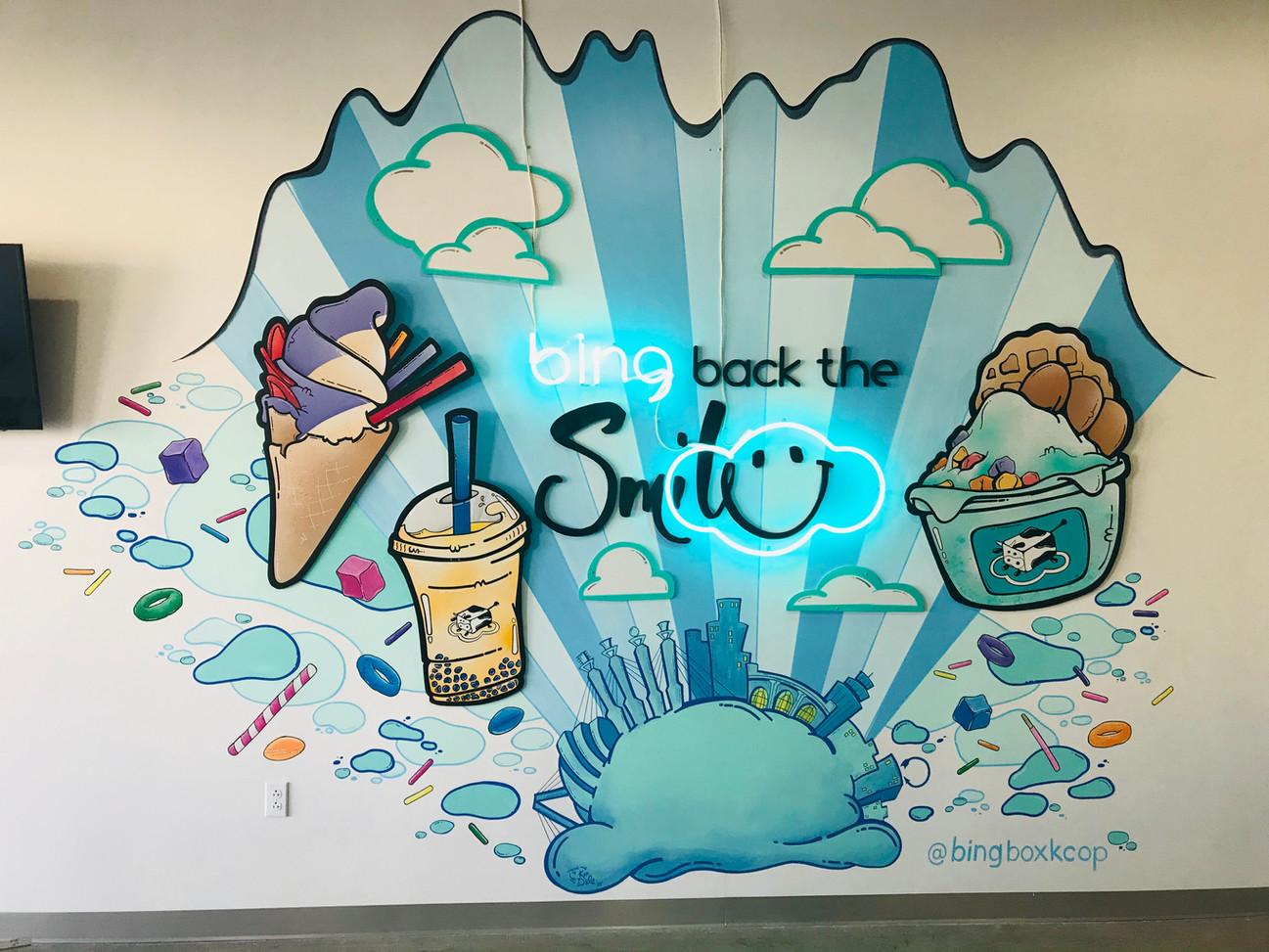 Bing Box mural