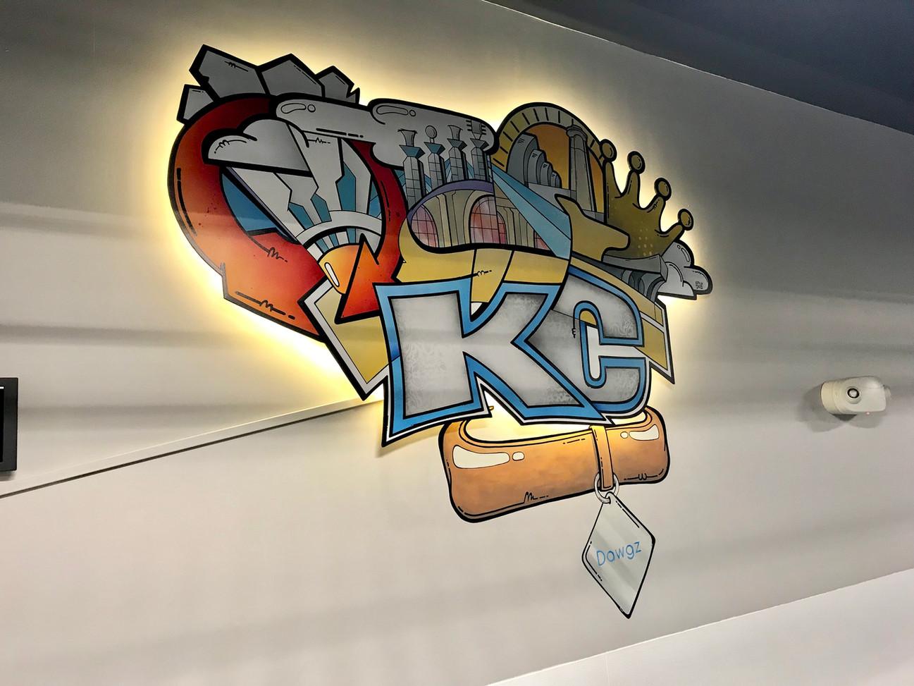 KC Dawgz training room