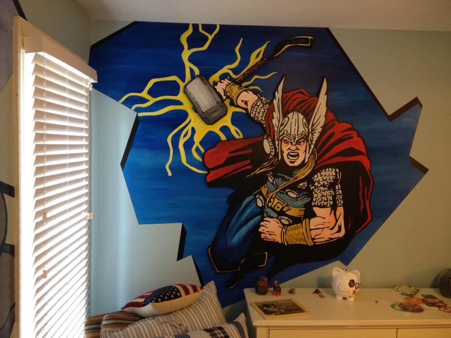 Thor - Dimension Mural