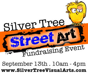 Silver Tree Visual Arts Flyer