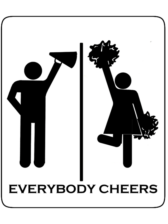 Everybody Cheers Shirt Design