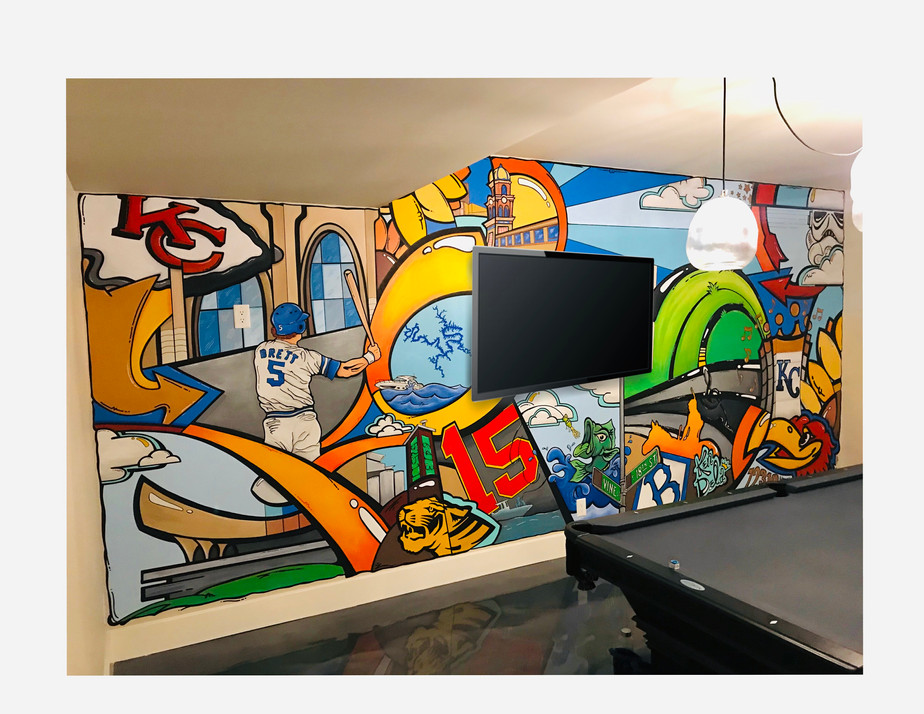 Childer's Bar Mural