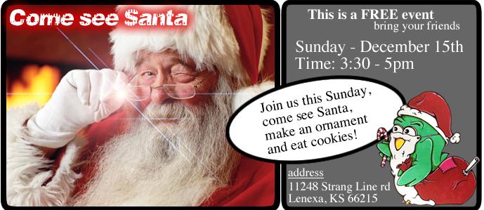 Silver Tree Visual Arts Santa Flyer