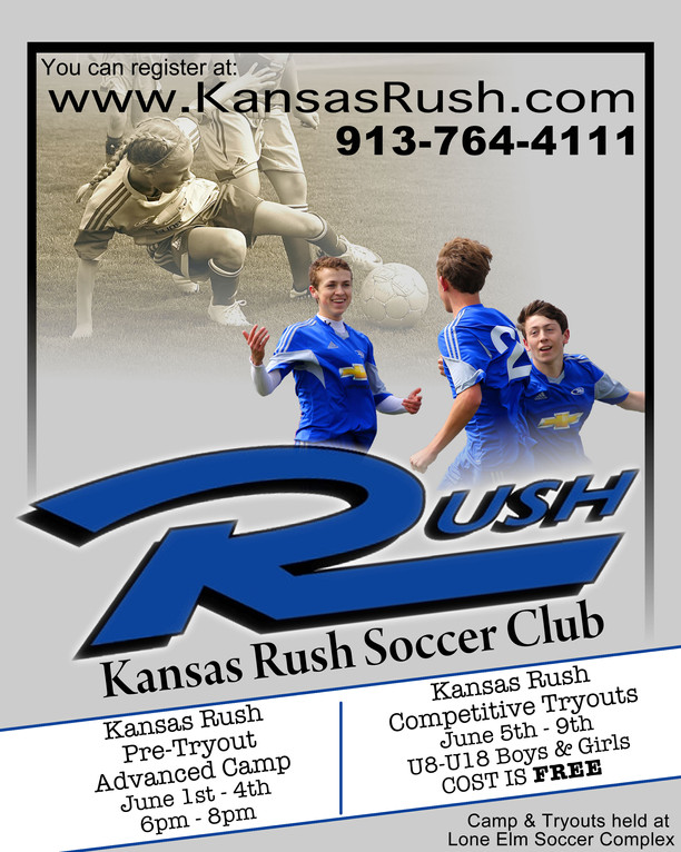 Rush Competitive Poster