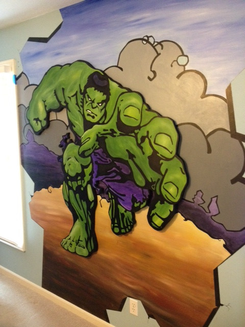 The Hulk - Dimension Mural