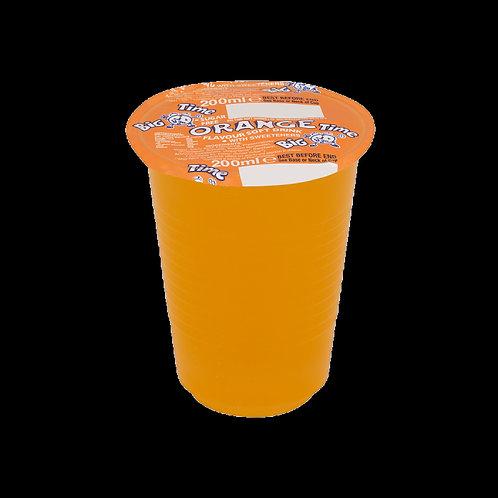 Big Time Orange Cup Drink 200ml
