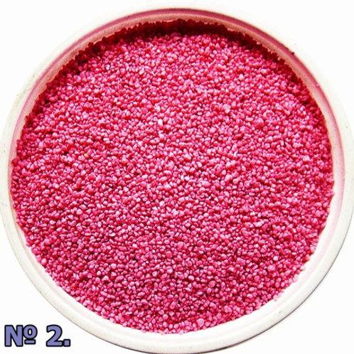 Цветной песок №2 Розовый