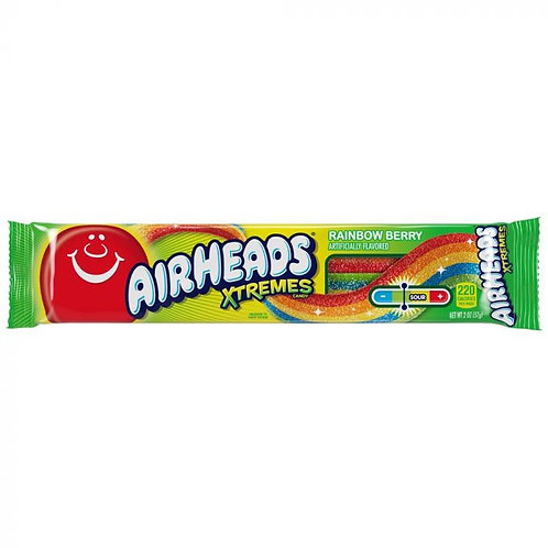 Airheads Xtremes Rainbow Berry Sour Belts 16g