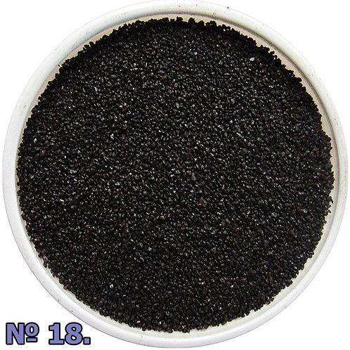 Цветной песок №18 Черный
