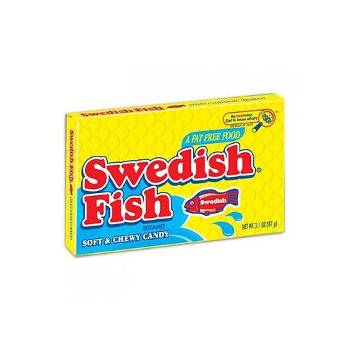 Swedish Fish Original Red Candy Theatre Box 88g