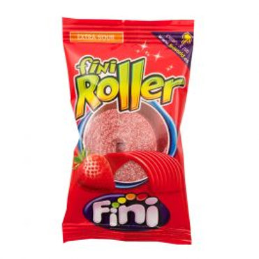 Fini Fizzy Strawberry Rollers
