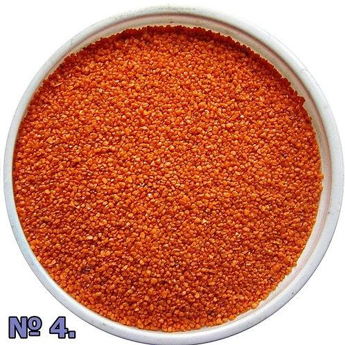 Цветной песок №4 Оранжевый