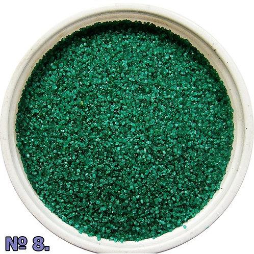 Цветной песок №8 Зеленый