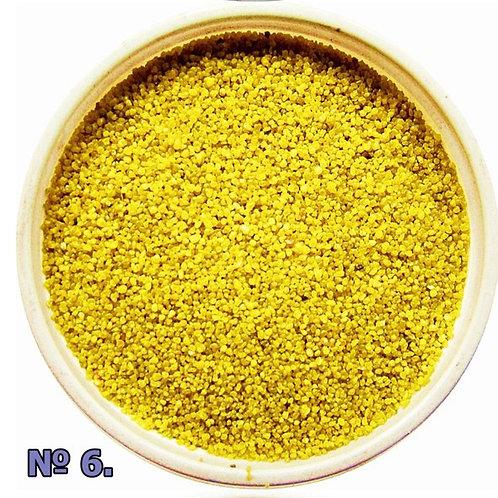 Цветной песок №6 Светло-желтый