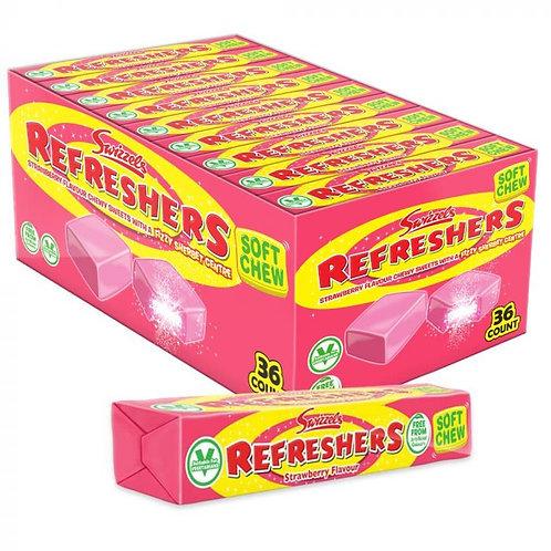 Swizzels Refreshers Strawberry Chews Stick Pack
