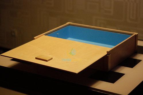 """""""Юнгианская песочница"""" маленькая, 500х400х100мм."""