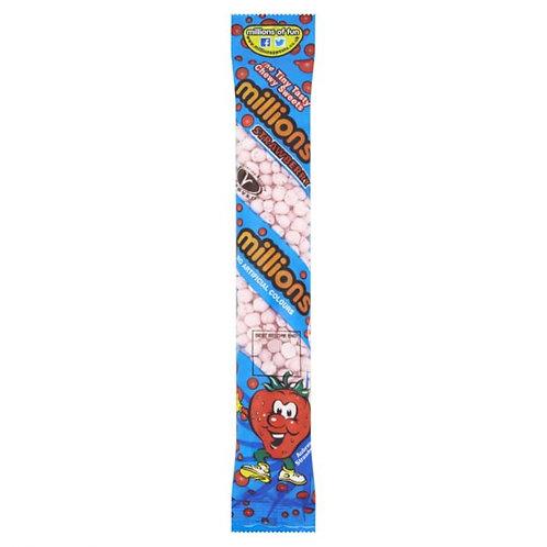 Millions Strawberry Tubes