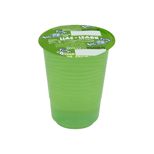Big Time Lime Cup Drinks 200ml