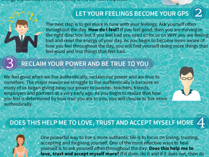My First Infographic for 5 Things Everyone Should Know About Healing!