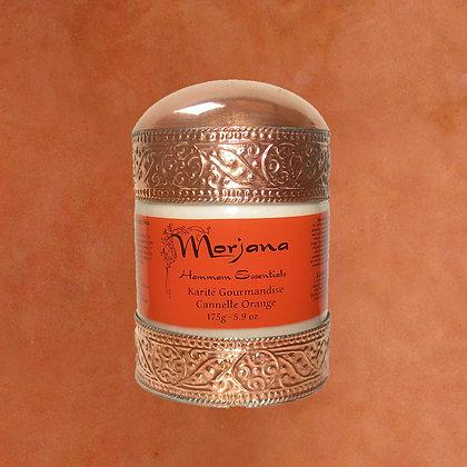 Delicious Cinnamon-Orange Shea Butter