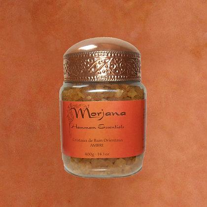 Amber Oriental  Bath Crystals