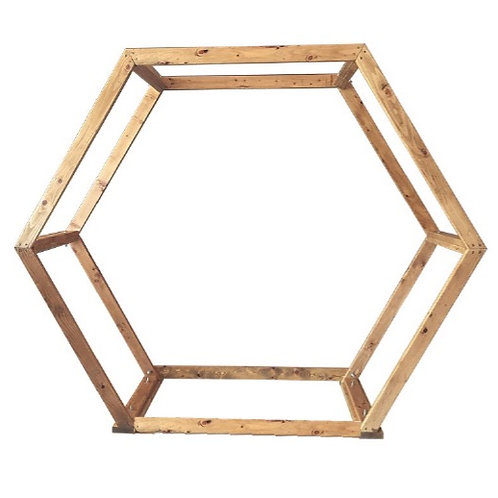 Hexagon Arch - Wood