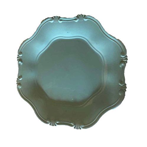 Cornucopia Underplate - Duck Egg