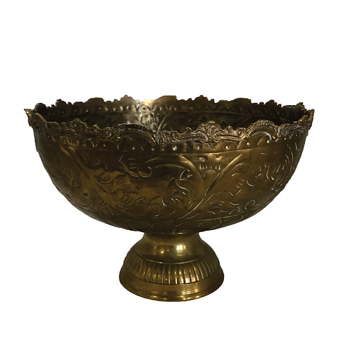 Decorative Champagne Cooler - Gold