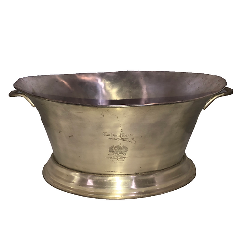 Old French Ice Bucket - Silver