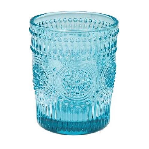 Tumbler Glass -Turquoise