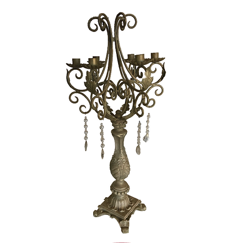 Antique Candelabra - Oatmeal