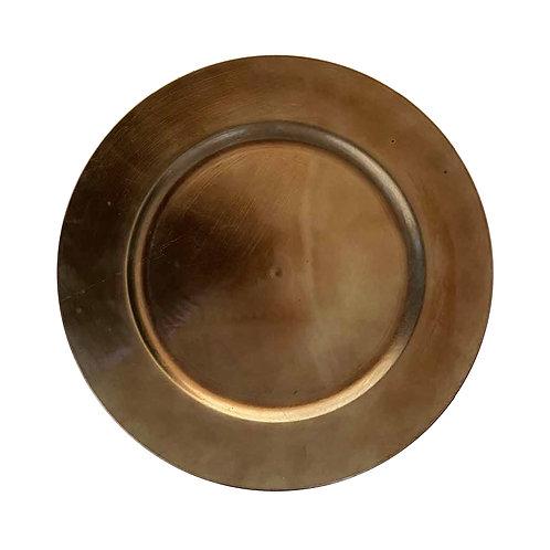 Round Underplate - Rich Gold