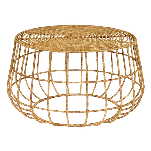 Rattan Coffee Table - Natural