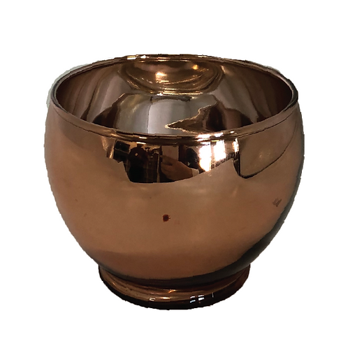 Rose Bowl Votive - Rose Gold