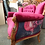 Thumbnail: Loretta Cabriole Couch - Burgundy
