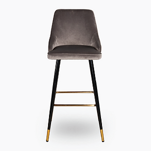 Velvet Bar chair - Grey-02.png