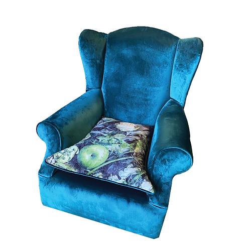 Rita Velvet Armchair - Teal