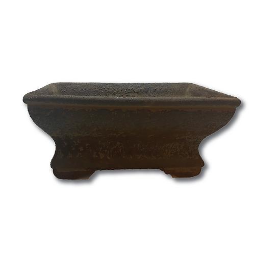 Pennylane Urn Vase - Rust (Rectangular)