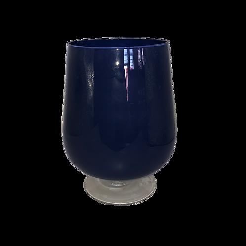 Cylinder Botanical Vase - Navy (L)