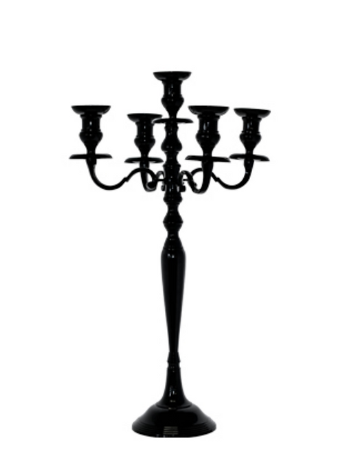 Candelabra - Black (Medium)