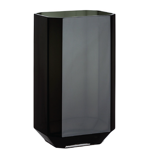 Black Lacquered Vase - Tall
